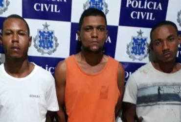 Três suspeitos de tráfico são presos em Santo Antônio de Jesus | Divulgação | SSP-BA