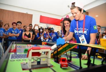 Estudantes da rede municipal de Camaçari disputam o 1º Torneio de Robótica Ford