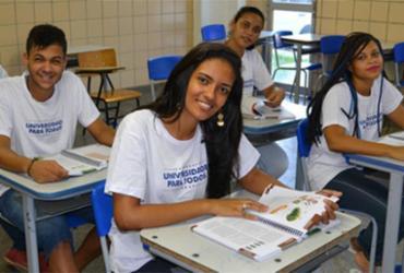 Lista de aprovados no Universidade para Todos é divulgada | Divulgação | Secretaria de Educação