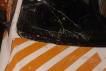 Agentes de trânsito batem viatura em muro após perseguição | Divulgação | Astram