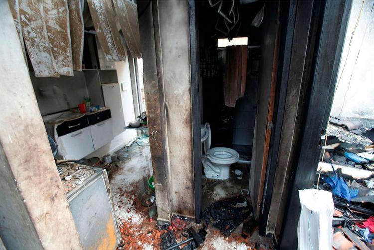 Gilson colocou fogo na casa enquanto a família dormia (Foto: Lúcio Távora | Ag. A TARDE | 04.01.2017)