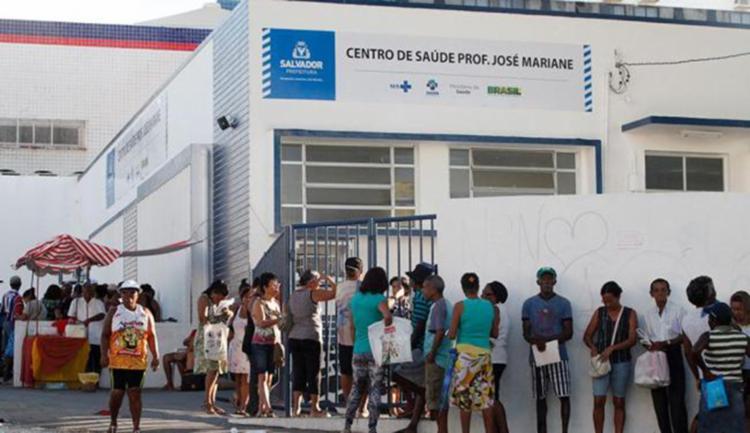 Postos de saúde da capital não funcionam no feriado e na sexta-feira, 01 - Foto: Edmilson Santos | Ag. A Tarde