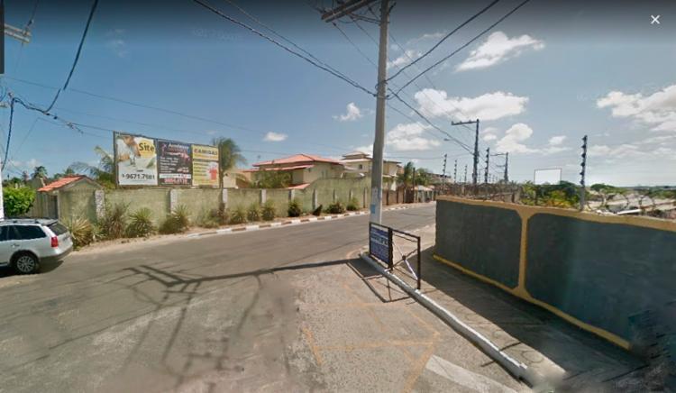 O acidente aconteceu na rua Doutor José Carlos Minahim - Foto: Reprodução | Google Maps