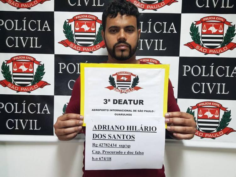 Adriano Hilário dos Santos, 32 anos, é apontado como líder do PCC - Foto: Divulgação | Polícia Civil