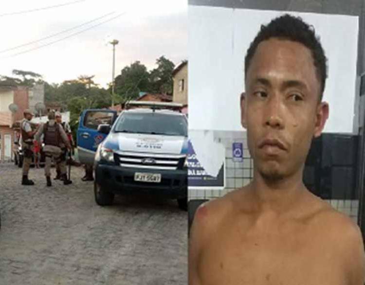 Segundo vizinhos, o homem agredia quase diariamente a mulher - Foto: Reprodução | Ubatã Notícias