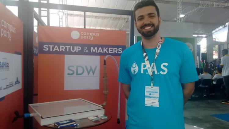 Startup comercializa equipamento que garante 99,9% de água potável - Foto: Lorena Souza
