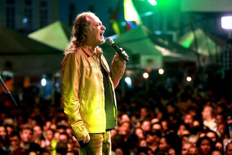 Cantor volta a Salvador para apresentar seus sucessos gravados em mais de 40 álbuns - Foto: Elói Corrêa | GovBA