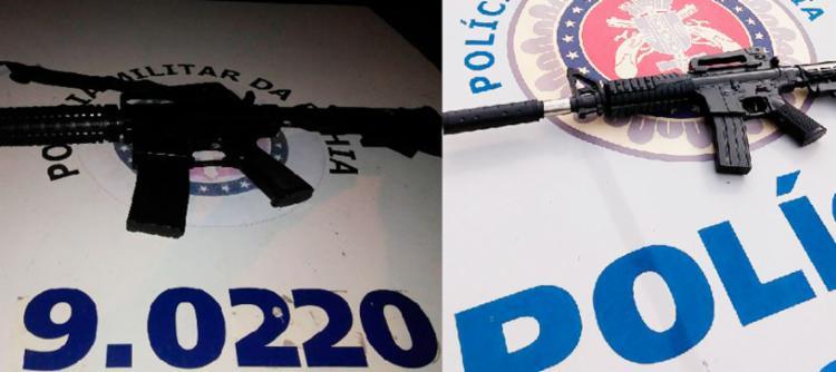 Materiais apreendidos foram encaminhados para unidades da Polícia Civil - Foto: Divulgação   SSP