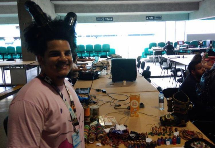 Kawê Araújo - estudante da Univasf - Foto: Fagna Santos