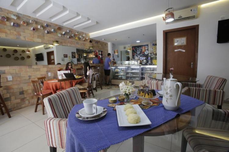 Na Boutique dos Bolos há café, chá, sanduíches, pãezinhos, mingaus, tapiocas, cuscuz e sopas - Foto: Margarida Neide / Ag. A Tarde