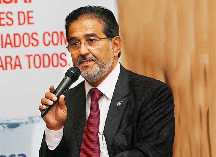 Ex-secretário Abelardo de Oliveira Filho faz palestra sobre saneamento - Foto: Ivan Erick Baldivieso | Secom