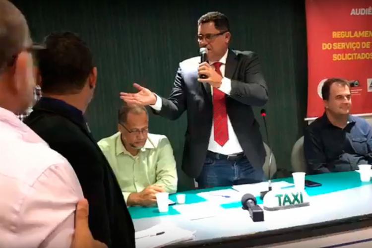 Confusão aconteceu durante reunião na Câmara Municipal de Salvador - Foto: Reprodução | Youtube