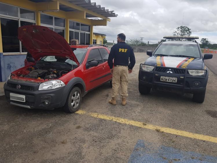 Condutor foi abordado por volta das 10h30 desta sexta, 18 - Foto: Divulgação | PRF