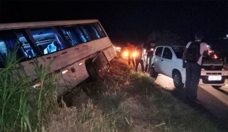 Apesar do acidente, não houve feridos no acidente - Foto: Reprodução | Giro em Ipiaú