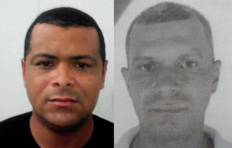 Diego (à esquerda) e Renan teriam participado de outros assaltos a bancos na Bahia e no Piauí, segundo a polícia - Foto: Divulgação | SSP-BA