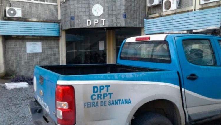 O corpo da criança foi encaminhado para o Departamento de Polícia Técnica (DPT) - Foto: Aldo Matos | Reprodução | Acorda Cidade