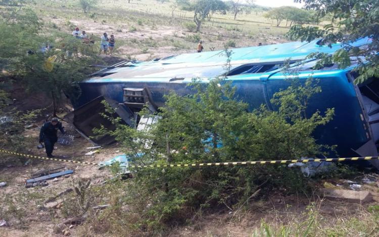 Ônibus tinha saído de Salvador na noite desta sexta-feira, 18 - Foto: Reprodução | TV Sergipe