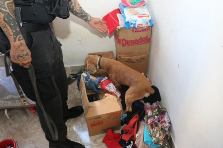 Todos os cômodos da casa foram revistados - Foto: Alberto Maraux | Divulgação | SSP-BA