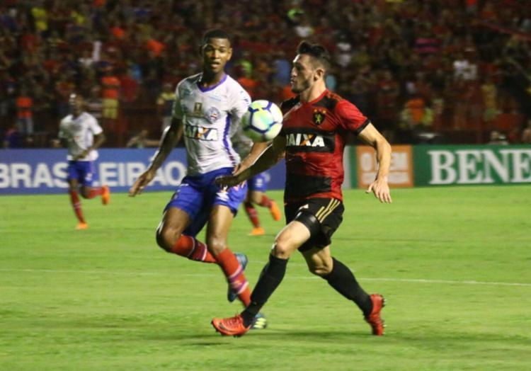 Atualmente o tricolor baiano ocupa a 15ª colocação no Campeonato Brasileiro - Foto: Williams Aguiar/Sport Club do Recife
