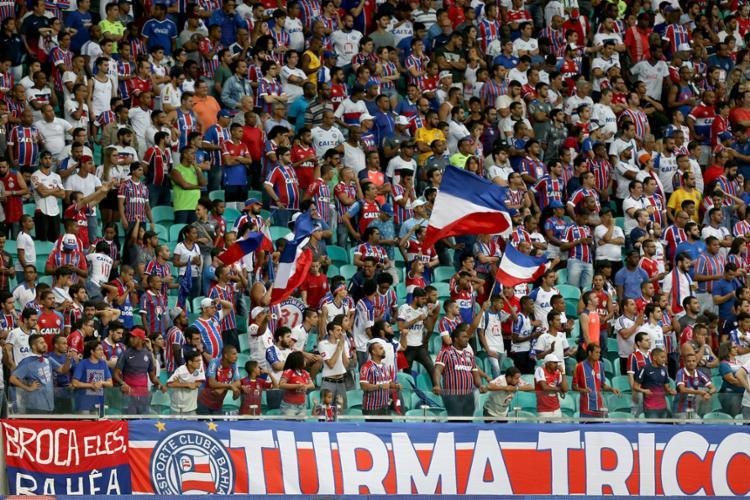 Tricolor terá o apoio da torcida para se reabilitar no Brasileirão - Foto: Felipe Oliveira | EC Bahia