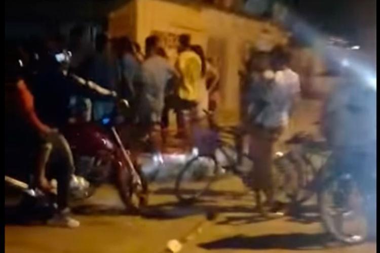 O corpo de Rafael foi levado para o DPT - Foto: Reprodução | YouTube