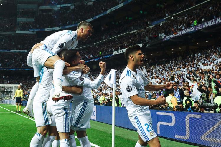 Francês mostrou oportunismo ao marcar em falha de Ulreich e costarriquenho segurou placar de 2 a 2 em Madri - Foto: Oscar Del Pozo l AFP
