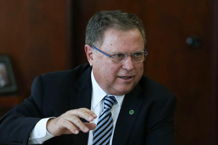 Ministro da Agricultura é acusado de ligação com esquema para pagar propina milionária por aposentadoria de conselheiro - Foto: José Cruz l Agência Brasil