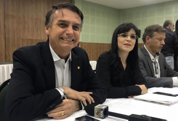Pré-candidato à presidência pelo PSL concedeu coletiva na tarde desta quinta-feira, 24 - Foto: Lucas Arraes