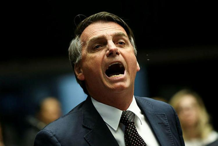 Bolsonaro fez críticas a gestão do presidente Michel Temer - Foto: Reprodução | Agencia Brasil