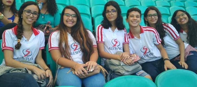 Jovens Comunicadores do Salesiano aprendem na Campus Party - Foto: Tânia Araújo