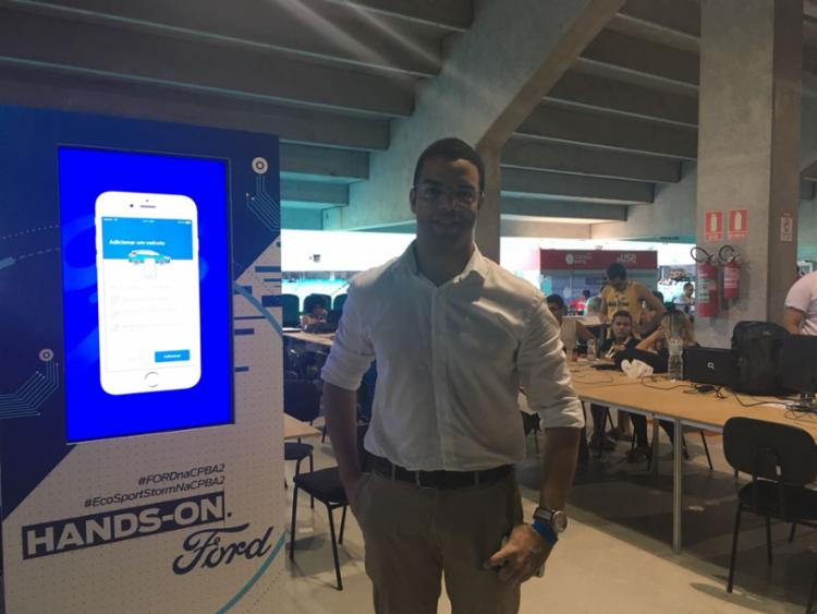 Empreendedor relata história na Campus Party Bahia - Foto: Edielle Carvalho l Ag. A Tarde