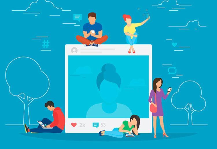 Em tempos de redes sociais, relações entre as pessoas podem ser vistas como conexões - Foto: Reprodução | Internet