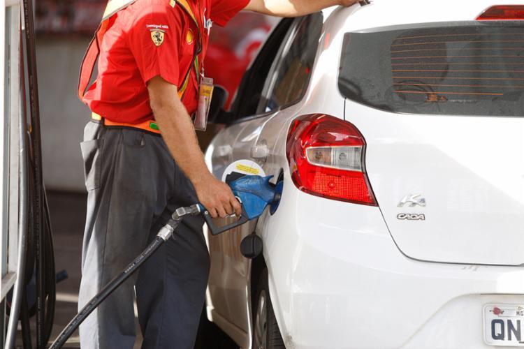 Apenas 5% dos postos ainda possuem estoque de diesel - Foto: Luciano da Matta | Ag. A TARDE