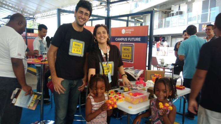 MIni Maker Lab Chama Atenção na CPBA - Foto: Fagna Santos| Ag. A ATARDE