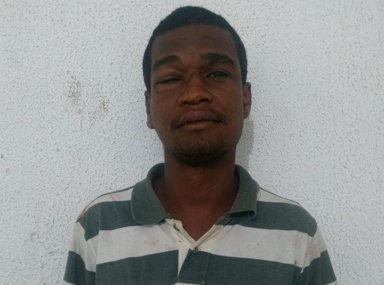 Alielson Duarte da Silva possuía mandado de prisão em aberto por roubo - Foto: Divulgação   SSP-BA