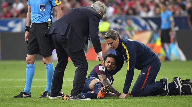 Declarações foram dadas após reunião com o jogador e com o departamento médico do PSG - Foto: Damien Meyer l AFP