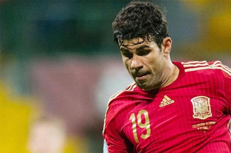 Diego Costa vai reforçar o ataque da Espanha ao lado do também brasileiro Rodrigo Moreno - Foto: AFP
