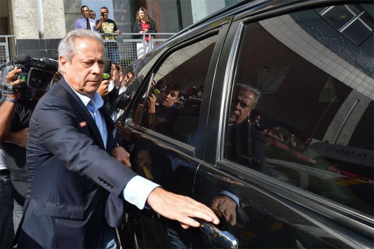 Ex-ministro ficará na Papuda até decisão final sobre cumprimento de pena - Foto: Fabio Rodrigues Pozzebom l Agência Brasil Brasília