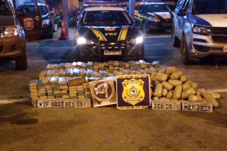 Droga seria levada de São Paulo para Fortaleza - Foto: Reprodução | Blog Rodrigo Ferraz