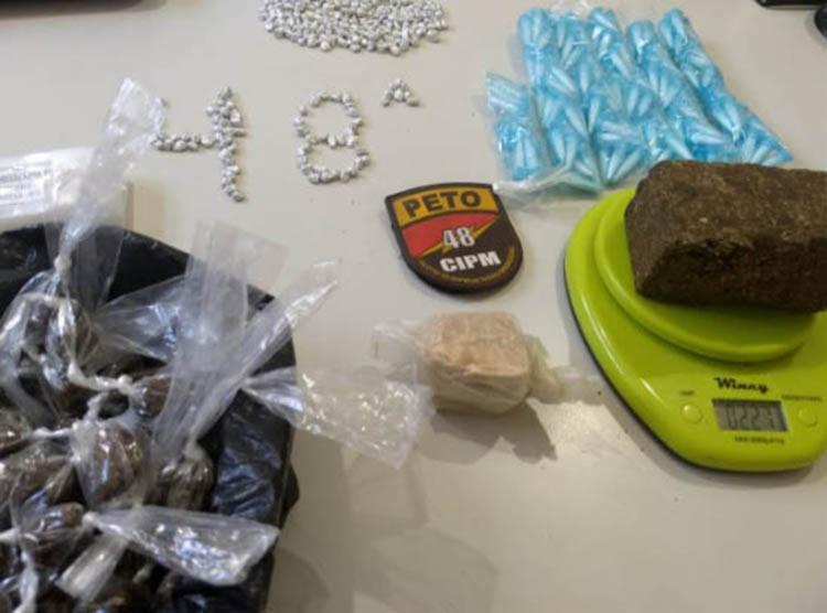 A droga renderia mais de R$ 10 mil após ser misturada - Foto: Divulgação| SSP-BA