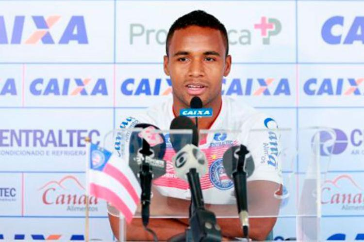 Atacante marcou o primeiro gol do Bahia na partida contra o Vasco - Foto: EC Bahia | Reprodução
