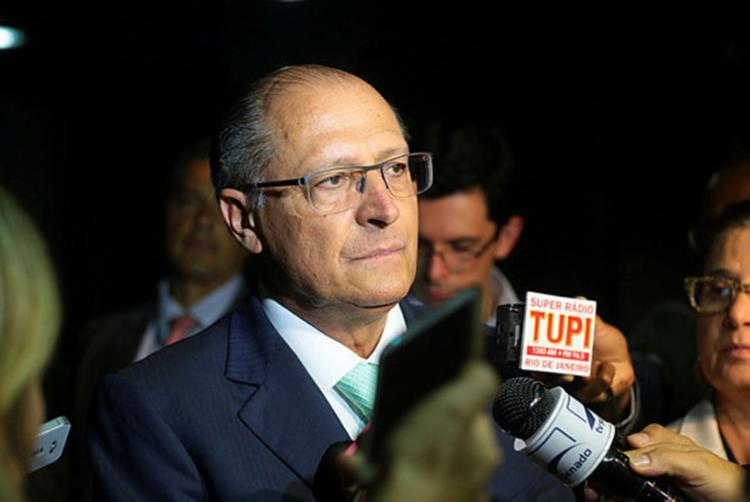 Para Alckmin, a disputa começa mesmo em 15 de agosto, depois da Copa do Mundo - Foto: Divulgação| PSDB