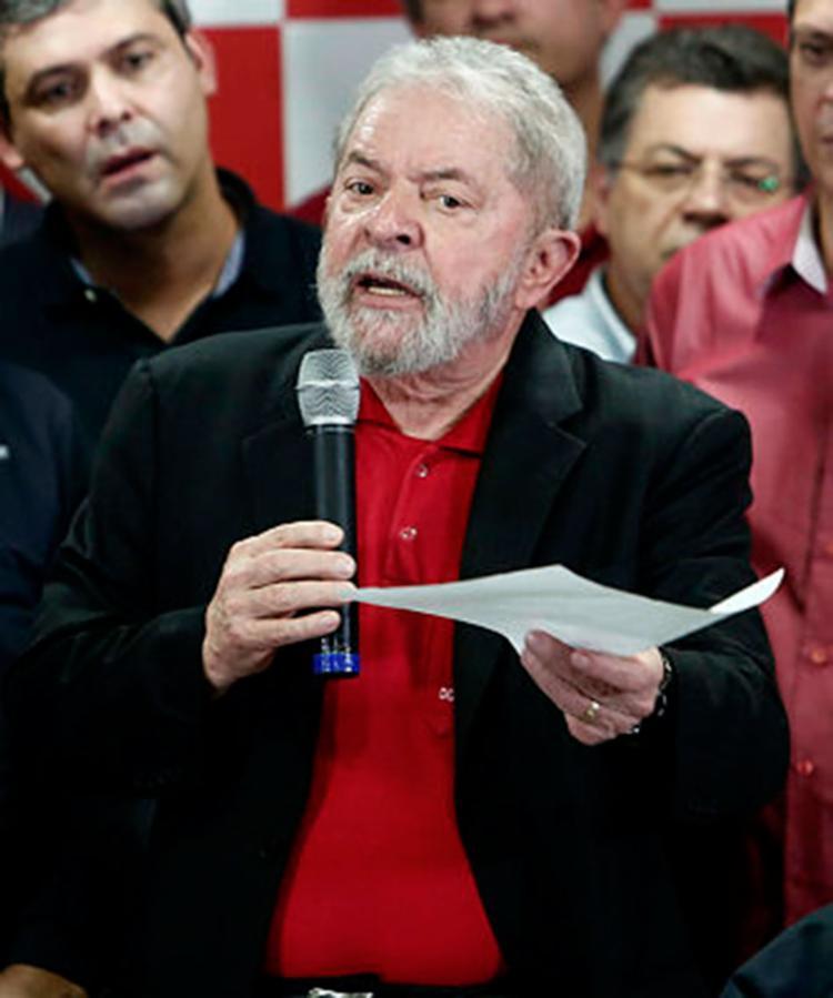 No texto, o petista diz lembrar de sua atuação em favor da entidade durante sua gestão - Foto: Miguel Schincariol   AFP