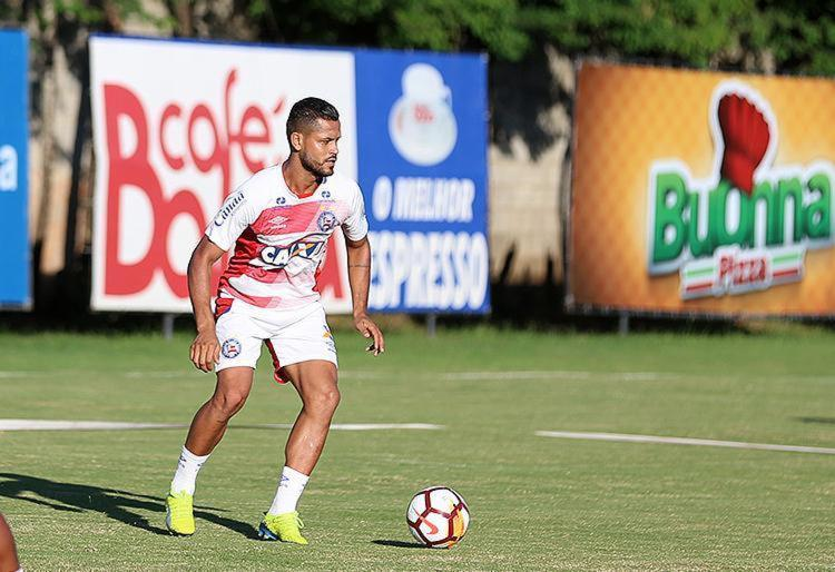 O úlitmo gol de Elton foi marcado na partida contra o Blooming, pela Copa Sul-Americana - Foto: Felipe Oliveira l EC Bahia