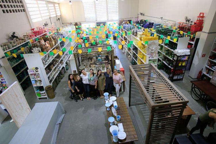 Empresárias montaram o primeiro espaço colaborativo de festas de Salvador - Foto: Margarida Neide | Ag. A Tarde