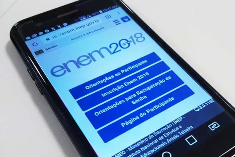 As inscrições são feitas pela internet, na página do participante - Foto: Marcello Casal Jr. | Agência Brasil