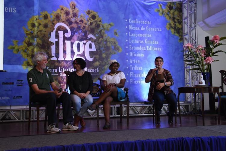 A terceira edição da Feira Literária de Mucugê (FLIGÊ) acontece entre os dias 16 e 19 de agosto - Foto: Divulgação