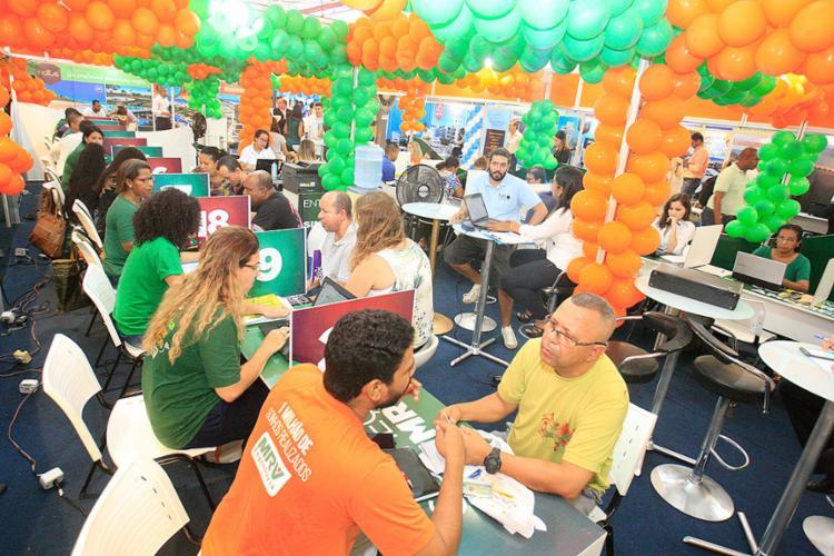 Feirão da Caixa este ano será realizado em Salvador e mais 14 cidades do País - Foto: Luciano da Matta l Ag. A TARDE