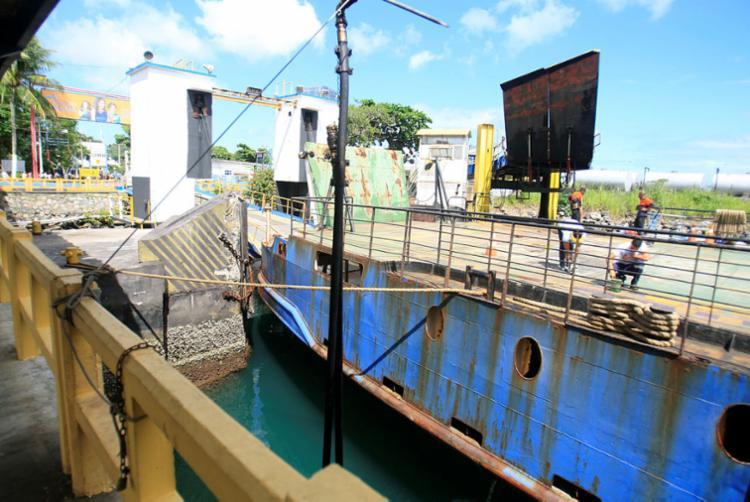 Intervenções irão permitir o uso das gavetas por mais embarcações - Foto: Luciano da Matta   Ag. A TARDE