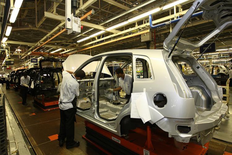 Ford (Camaçari) suspendeu montagem desde a terça - Foto: Carlos Casaes l Ag. A TARDE l 25.10.2007